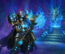 Choosing to play as a Death Knight in World of Warcraft