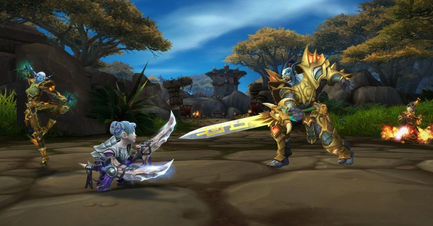 Ganking and Camping in World of Warcraft