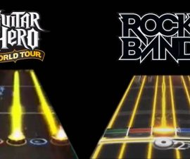 Rock Band 2 vs Guitar Hero: World Tour
